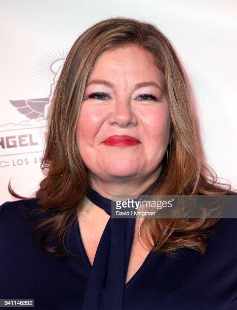 Actress Lisa Linke attends the 6th Annual Rock Against MS benefit concert and award show at the Los Angeles Theatre on March 31 2018 in Los Angeles...