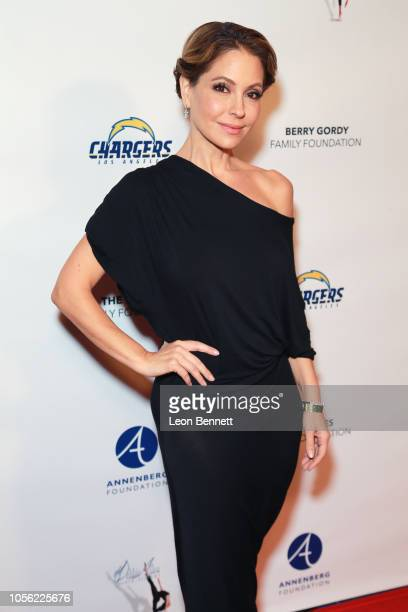 Actress Lisa LoCicero attends 18th Annual Debbie Allen Dance Academy Fall Soiree Fundraising Celebration at Wallis Annenberg Center for the...