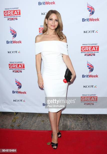 Actress Lisa LoCicero attends BritWeek 2018 Innovation Creativity Awards at The Fairmont Miramar Hotel Bungalows on May 4 2018 in Santa Monica...