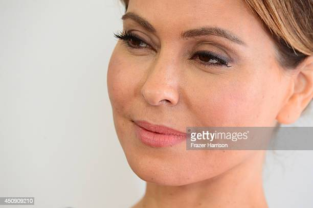 Actress Lisa Locicero attends Television Academy's Daytime Programming Peer Group's 41st Annual Daytime Emmy Nominees Celebration at The London West...