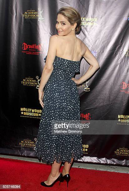 Actress Lisa LoCicero attends the 2016 Daytime Emmy Awards Nominees Reception at The Hollywood Museum on April 27 2016 in Hollywood California