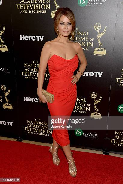 Actress Lisa LoCicero attends The 41st Annual Daytime Emmy Awards at The Beverly Hilton Hotel on June 22 2014 in Beverly Hills California