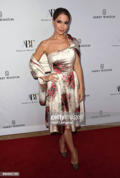 Actress Lisa LoCicero attends the American Ballet Theatre's annual holiday benefit dinner and performance at The Beverly Hilton Hotel on December 11...