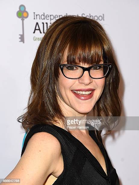 Actress Lisa Loeb arrives at The Independent School Alliance For Minority Affairs Impact Awards Dinner Arrivals at Four Seasons Hotel Los Angeles at...