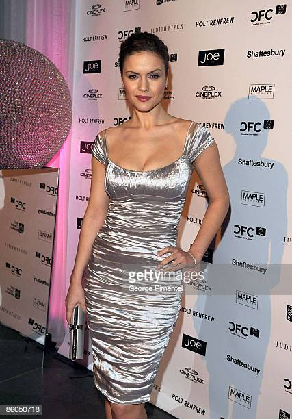 Actress Lisa Marcos attends the Canadian Film Centre 2009 Gala and Auction at the Kool Haus on February 11, 2009 in Toronto, Ontario, Canada.