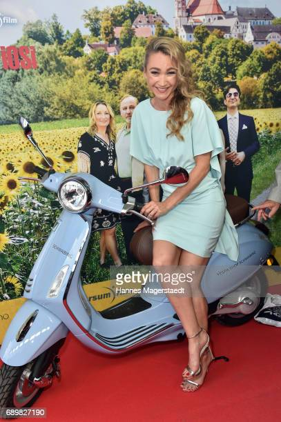 Actress Lisa Maria Potthoff during the 'Maria Mafiosi' Premiere at Sendlinger Tor Filmpalast on May 29 2017 in Munich Germany