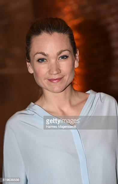 Actress Lisa Maria Potthoff during the 'Morgan Freeman's Story of God' Premiere Screening at Allerheiligen Hofkirche on April 7 2016 in Munich Germany