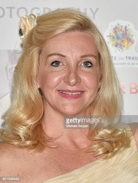 Actress Lisa Marie Collins arrives at Sur Le Mur presents The Premiere Opening of Per Bernal's Fine Art Photography Studio In Los Angeles on November...