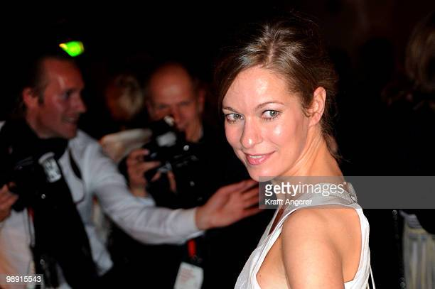 Actress Lisa Martinek attends the HenriNannenAward at the Schauspielhaus on May 7 2010 in Hamburg Germany