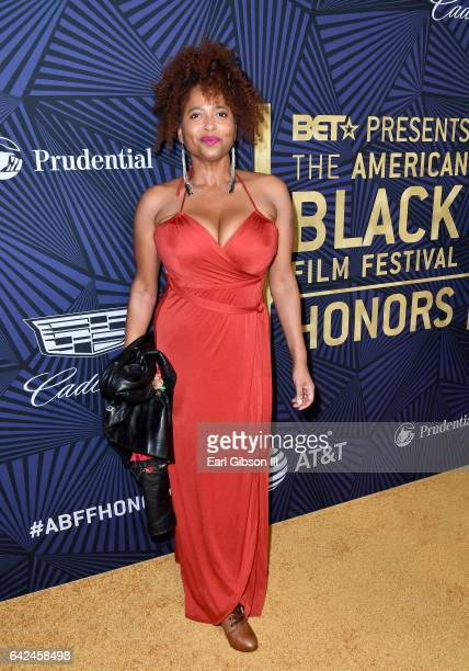 Actress Lisa Nicole Carson attends BET Presents the American Black Film Festival Honors on February 17 2017 in Beverly Hills California