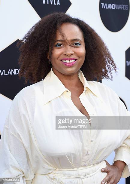 Actress Lisa Nicole Carson attends the 2015 TV Land Awards at Saban Theatre on April 11 2015 in Beverly Hills California
