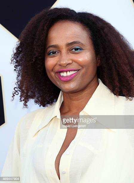 Actress Lisa Nicole Carson attends the 2015 TV Land Awards at the Saban Theatre on April 11 2015 in Beverly Hills California
