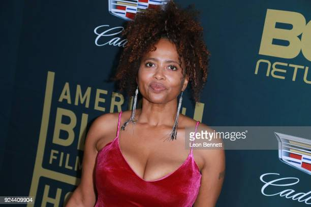Actress Lisa Nicole Carson attends the 2018 American Black Film Festival Honors Awards at The Beverly Hilton Hotel on February 25 2018 in Beverly...