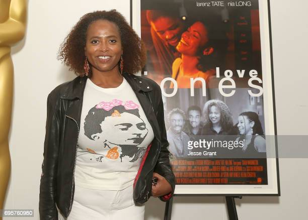 Actress Lisa Nicole Carson attends The Academy of Motion Picture Arts and Sciences' 20th Anniversary Celebration of 'Love Jones' at the Samuel...