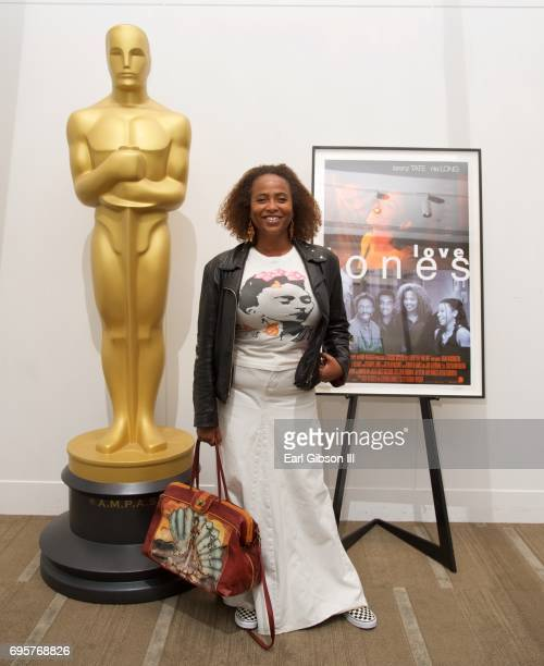 Actress Lisa Nicole Carson attends The Academy Of Motion Picture Arts And Sciences 20th Anniversary Celebration Of 'Love Jones' at Samuel Goldwyn...