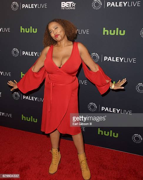 Actress Lisa Nicole Carson attends 'The New Edition Story' at The Paley Center for Media on December 14 2016 in Beverly Hills California