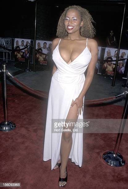 Actress Lisa Nicole Carson attends the 'Nutty Professor II The Klumps' Universal City Premiere on July 24 2000 at Universal Amphitheatre in Universal...