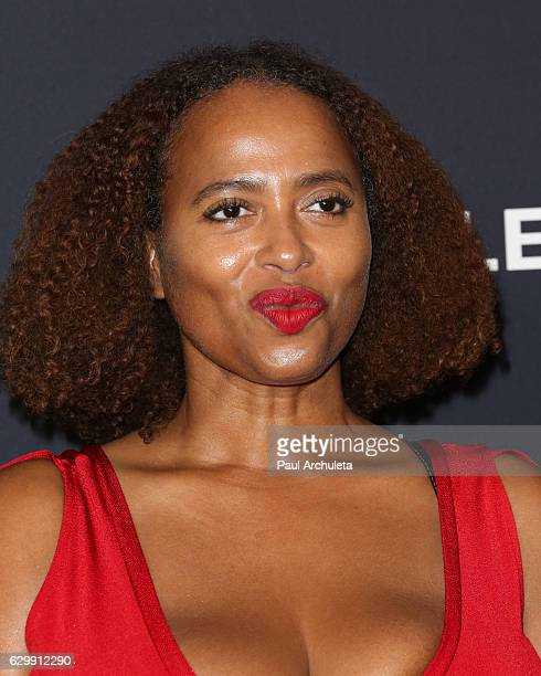 Actress Lisa Nicole Carson attends the premiere of BET's 'The New Edition Story' at The Paley Center for Media on December 14 2016 in Beverly Hills...