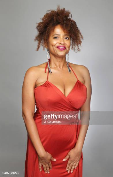 Actress Lisa Nicole Carson poses for a portrait for BET's 2017 American Black Film Festival Honors Awards at The Beverly Hilton Hotel on February 17...