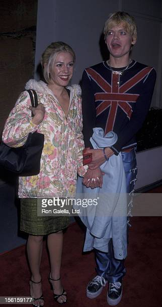 Actress Lisa Rieffel and musician Jeff Whalen attend the premiere of 'Another Day In Paradise' on December 13 1998 at the Writer's Guild Theater in...