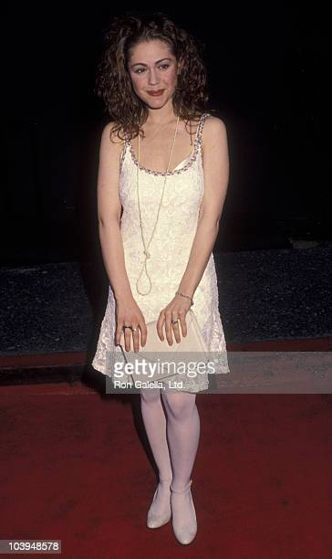 Actress Lisa Rieffel attends 18th Annual People's Choice Awards on March 17 1992 at Universal Studios in Universal City California