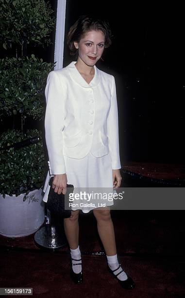 Actress Lisa Rieffel attends 21st Annual People's Choice Awards on March 5 1995 at Universal Studios in Universal City California