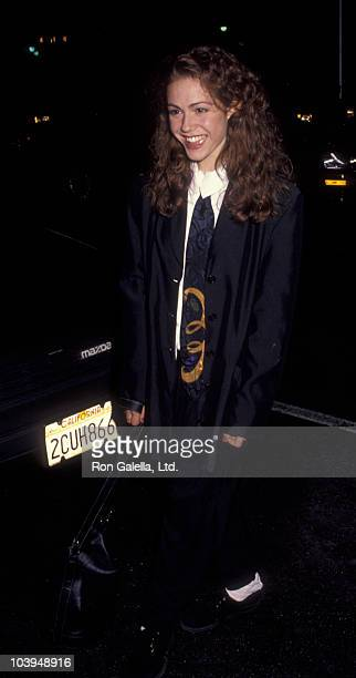 Actress Lisa Rieffel attends ABC Affiliates Party on June 3 1992 at the Century Plaza Hotel in Century City California