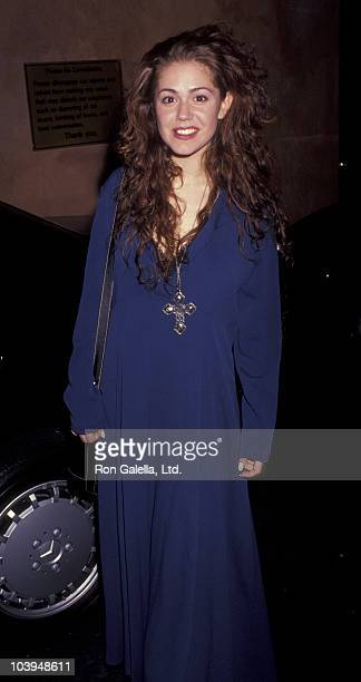 Actress Lisa Rieffel attends First Anniversary Party for Roxbury Club Benefiting Pediatric AIDS Foundation on September 18 1991 at Roxbury Club in...