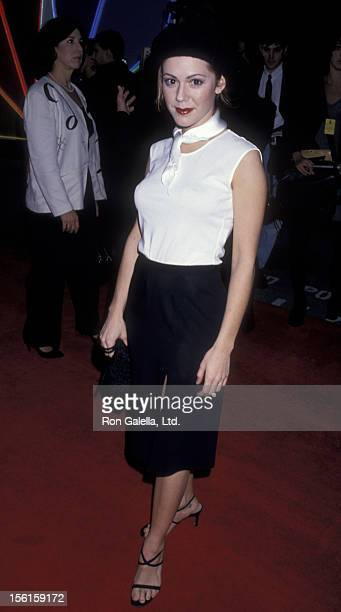 Actress Lisa Rieffel attends First Annual Screen Actor's Guild of America Awards on February 25 1995 at Universal Studios in Universal City California
