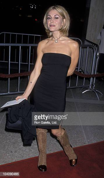 Actress Lisa Rieffel attends the premiere of Living Out Loud on October 28 1998 at the Cineplex Odeon Cinema in Century City California