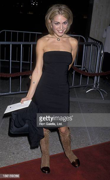 Actress Lisa Rieffel attends the premiere of 'Living Out Loud' on October 28 1998 at the Cineplex Odeon Cinema in Century City California