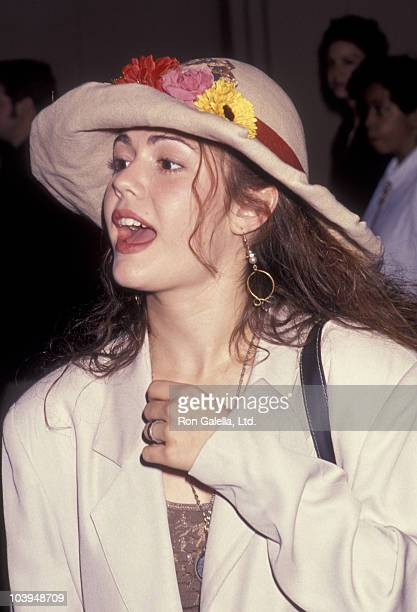 Actress Lisa Rieffel attends the premiere of The Gambler Returns on October 14 1991 at the Academy Theater in Beverly Hills California