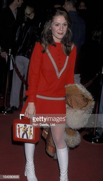 Actress Lisa Rieffel attends the world premiere of Drowning Mona on February 28 2000 at Mann Bruin Theater in Westwood California