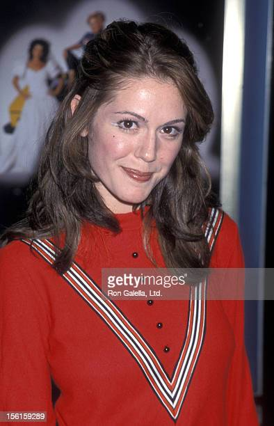 Actress Lisa Rieffel attends the world premiere of 'Drowning Mona' on February 28 2000 at Mann Bruin Theater in Westwood California