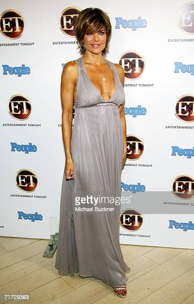 Actress Lisa Rinna arrives at the 10th Annual Entertainment Tonight Emmy Party sponsored by People Magazine held at the Mondrian on August 27, 2006...