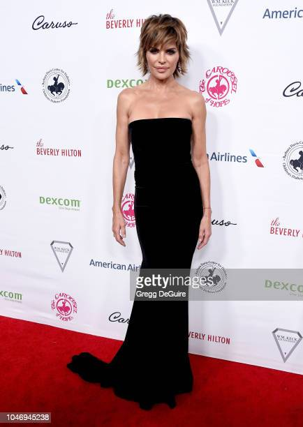 Actress Lisa Rinna arrives at the 2018 Carousel Of Hope Ball at The Beverly Hilton Hotel on October 6 2018 in Beverly Hills California