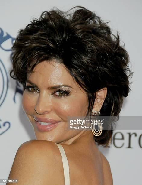 Actress Lisa Rinna arrives at The 30th Anniversary Carousel Of Hope Ball at The Beverly Hilton Hotel on October 25 2008 in Beverly Hills California