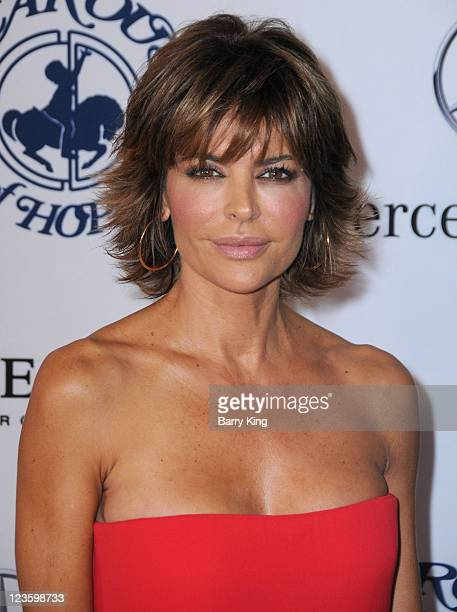 Actress Lisa Rinna arrives at the 32nd Anniversary Carousel of Hope Ball at The Beverly Hilton hotel on October 23 2010 in Beverly Hills California