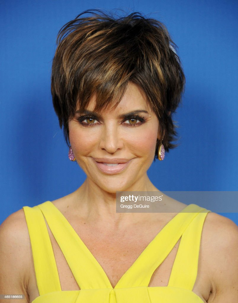 Actress Lisa Rinna arrives at the 66th Annual Directors Guild Of America Awards at the Hyatt Regency Century Plaza on January 25, 2014 in Century City, California.