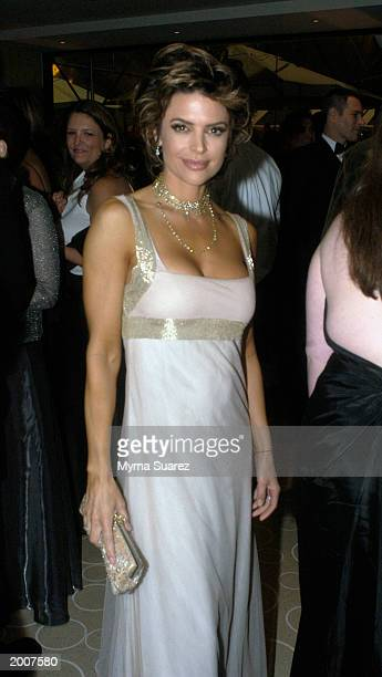 Actress Lisa Rinna at the ABC after party for the 30th Annual Daytime Emmy Awards May 16 2003 at the Sea Grill Restaurant in New York City Lisa is...
