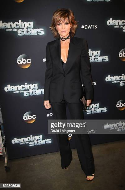 Actress Lisa Rinna attends 'Dancing with the Stars' Season 24 premiere at CBS Televison City on March 20 2017 in Los Angeles California