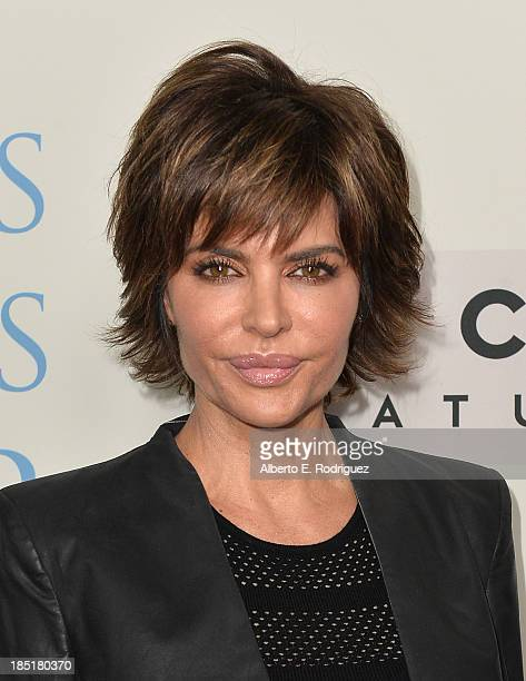 Actress Lisa Rinna attends Focus Features' 'Dallas Buyers Club' premiere at the Academy of Motion Picture Arts and Sciences on October 17 2013 in...