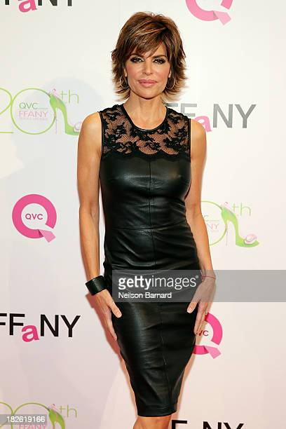 Actress Lisa Rinna attends QVC Presents FFANY Shoes On Sale at Waldorf Astoria Hotel on October 1 2013 in New York City
