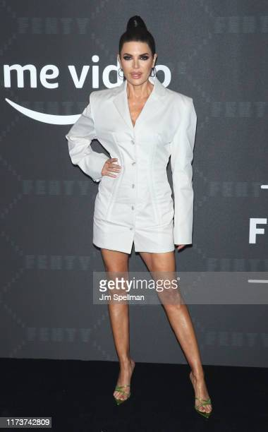 Actress Lisa Rinna attends the Savage x Fenty arrivals during New York Fashion Week at Barclays Center on September 10 2019 in New York City