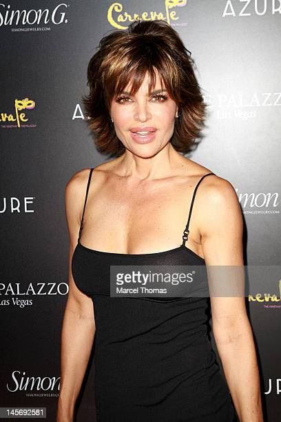 Actress Lisa Rinna attends the Simon G Jewelry's Summer Soiree and the kickoff of Carnevale Nights at The Palazzo on June 2 2012 in Las Vegas Nevada