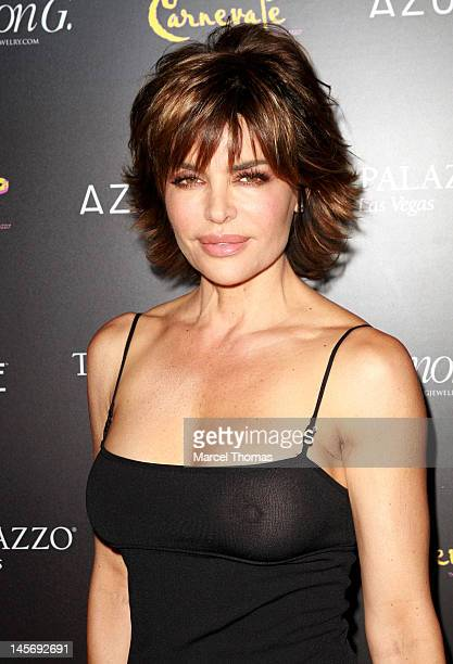 Actress Lisa Rinna attends the Simon G Jewelry's 'Summer Soiree' and the kickoff of Carnevale Nights at The Palazzo on June 2 2012 in Las Vegas Nevada