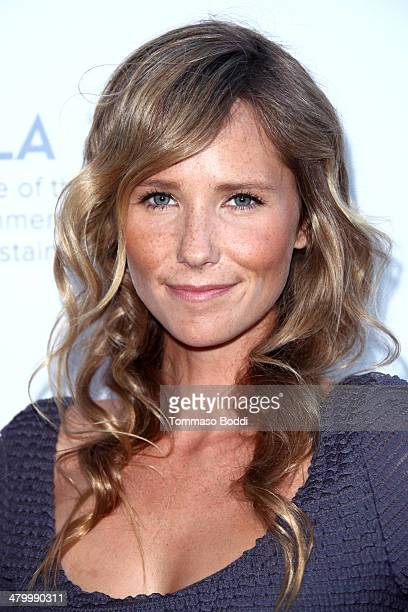 Actress Lisa Sheldon attends the an Evening of Environmental Excellence presented by the UCLA Institute of The Environment and Sustainability on...