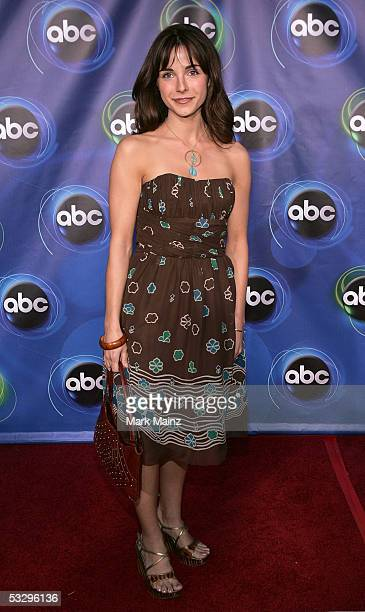 Actress Lisa Sheridan arrives at the ABC TCA party at the Abby on July 27 2005 in West Hollywood California