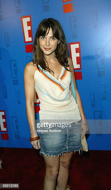 Actress Lisa Sheridan arrives at the E Entertainment Television Summer Splash at the Roosevelt Hotel on August 1 2005 in Los Angeles California