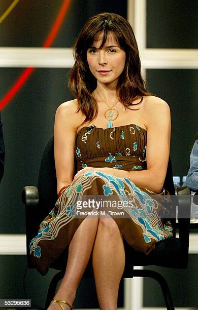 Actress Lisa Sheridan attends the panel discussion for Invasion during the ABC 2005 Television Critics Association Summer Press Tour at the Beverly...